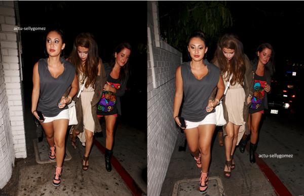 10 juin 2013 : Selena s'est rendue au restaurant Kabuki, à Los Angeles