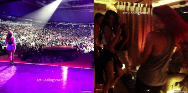18 août 2013 : Selena a fait un concert à Saskatoon, au Canada