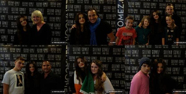 5 septembre 2013 : Selena a fait un concert à Paris, en France