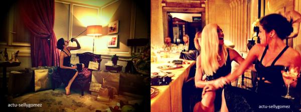 19 septembre 2013 : Selena a été vue quittant un restaurant avec des amies à Milan, en  Italie