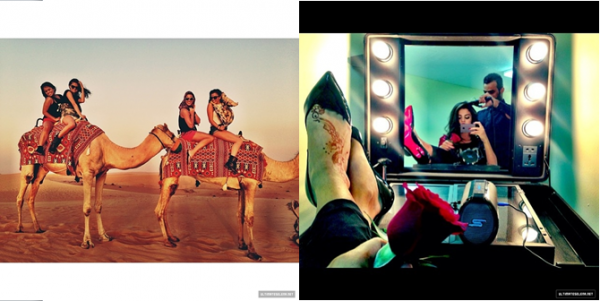 27 septembre 2013 : Selena a fait un concert à Dubaï, aux Émirats Arabes Unis