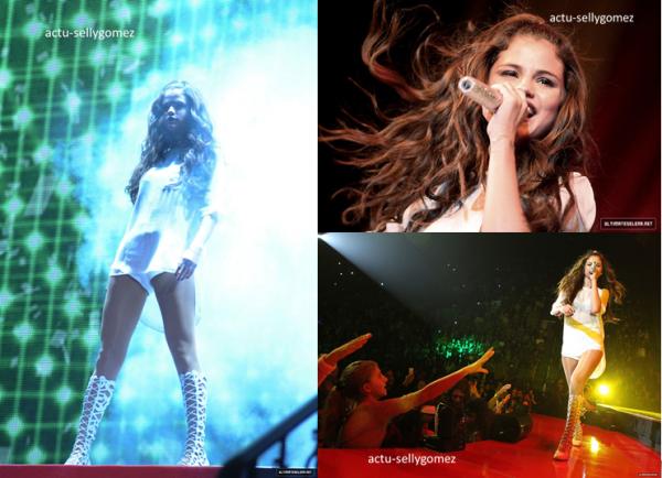 10 octobre 2013 : Selena a fait un concert à Fairfax, en Virginie, aux USA