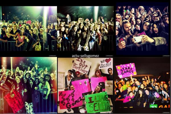 15 octobre 2013 : Selena a fait un concert à Buffalo, aux USA