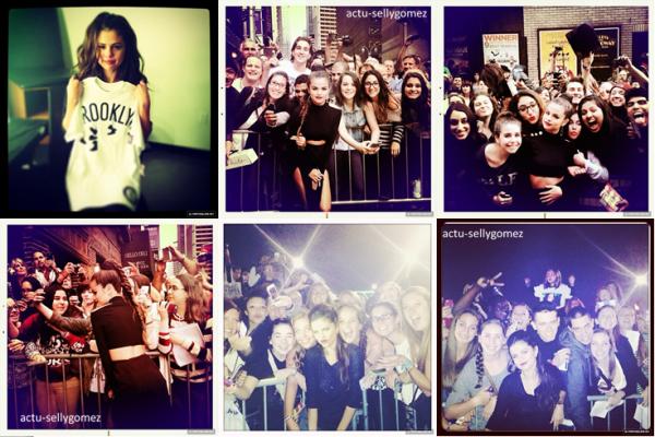 19 octobre 2013 : Selena a fait un concert à Uncasville au Connecticut, aux USA