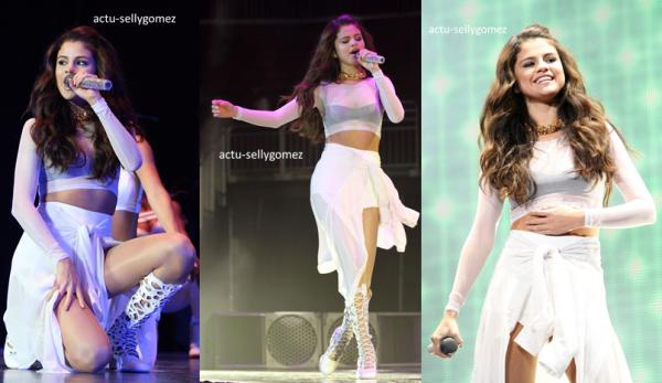 25 octobre 2013 : Selena a fait un concert à Nashville, au Tennessee