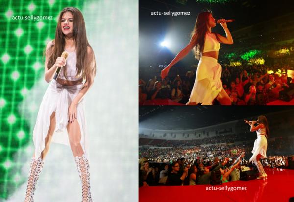 8 novembre 2013 : Selena a fait un concert à San Diego, en Californie