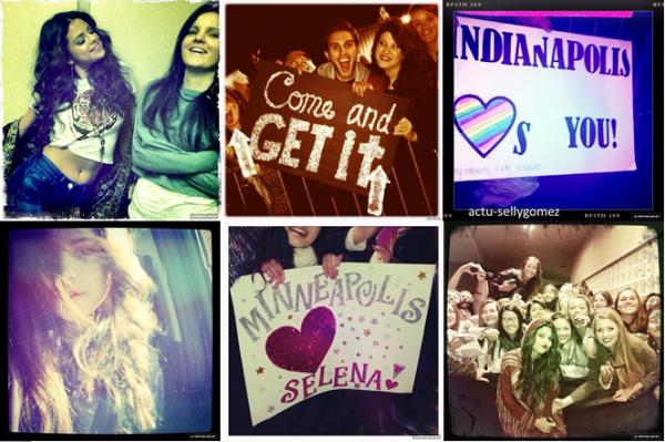 22 novembre 2013 : Selena a fait un concert à Rosemont, en Illinois