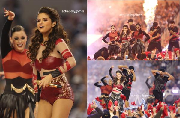 28 novembre 2013 : Selena a chanté durant la mi-temps du match des Cowboys vs. Raiders