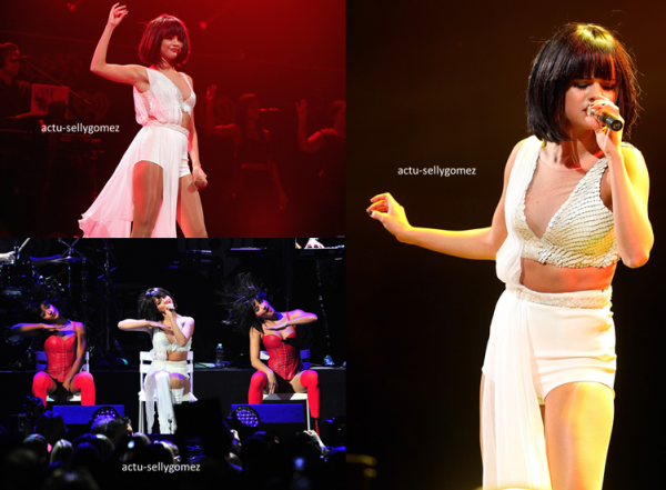 6 décembre 2013 : Selena était au 102,7 KIIS FM Jingle Ball 2013, à Los Angeles