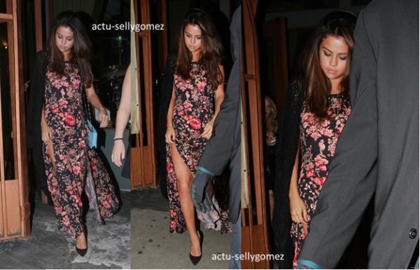14 mars 2014 : Selena a été vue se rendant au restaurant Kabuki, à Los Angeles