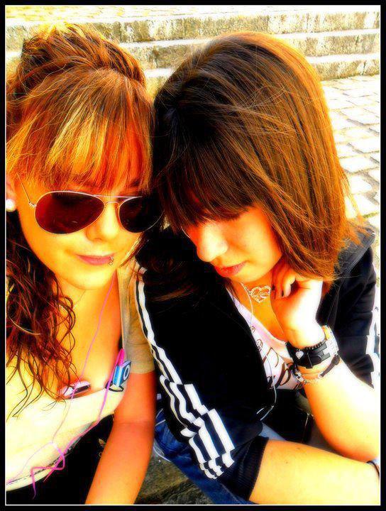 Ma cousine Marie et moi <3