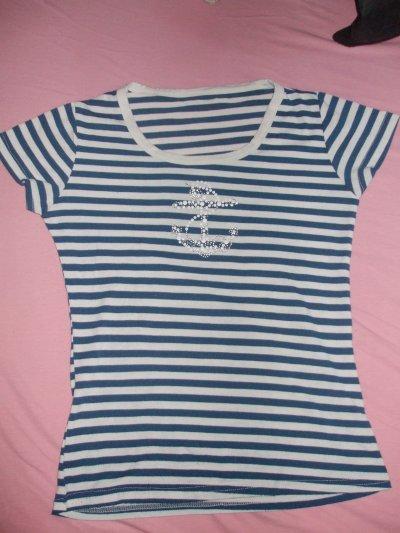 """# T-shirt encre """"marine"""""""