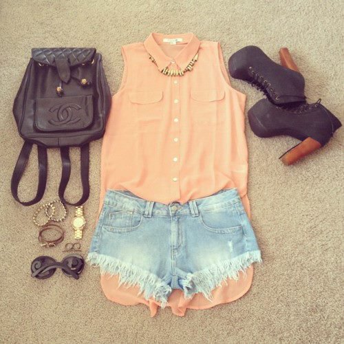 Summer Outfits : Tumblr Inspiration