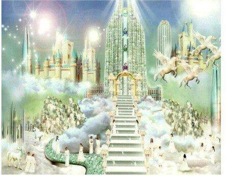 Une partie de la cité celeste.