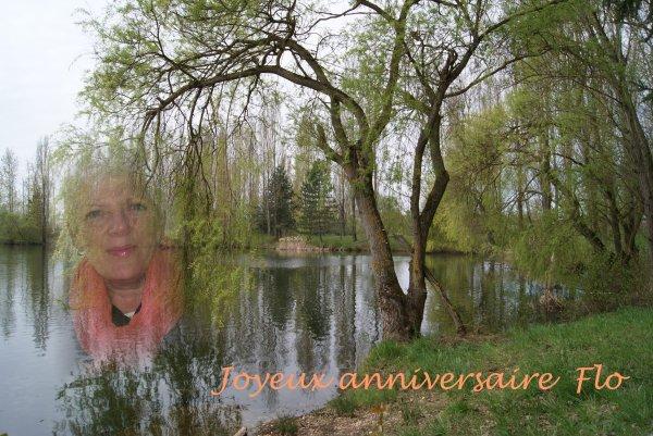 Joyeux anniversaire Flo...