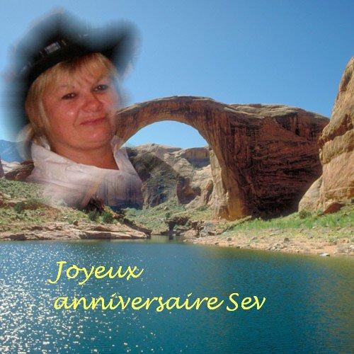 Joyeux anniversaire Sev ..