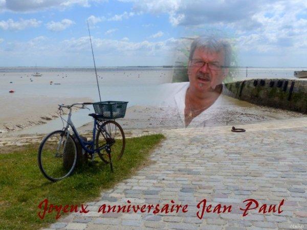 Joyeux anniversaire Jean Paul !