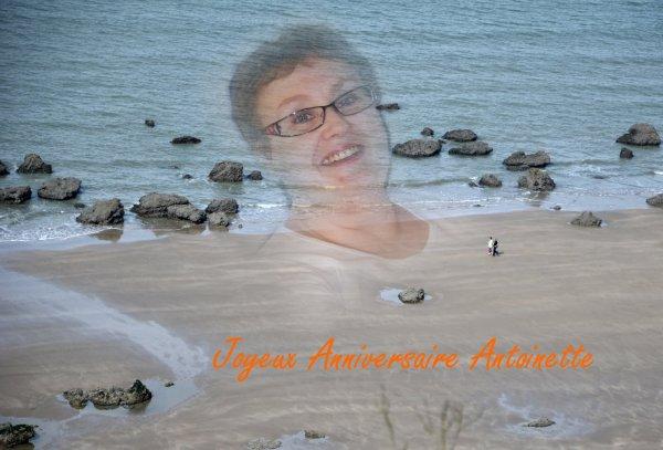 Joyeux anniversaire Antoinette