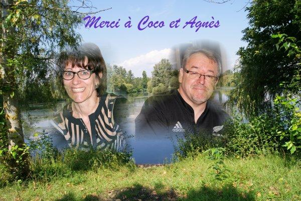 Merci Agnès et Coco  !