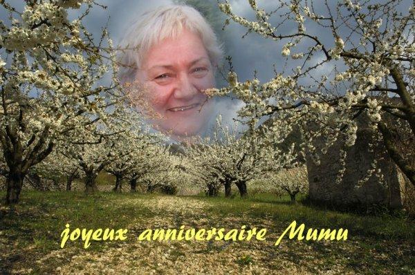 Joyeux anniversaire Murielle
