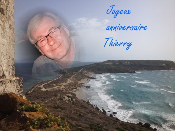 Joyeux anniversaire Thierry !