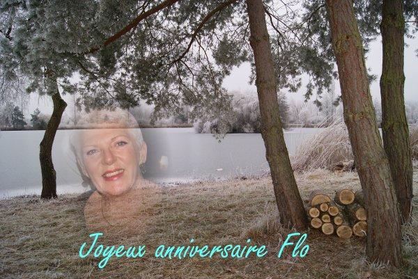 Joyeux anniversaire  Flo..