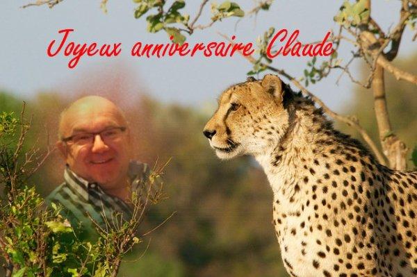 Joyeux anniversaire Claude