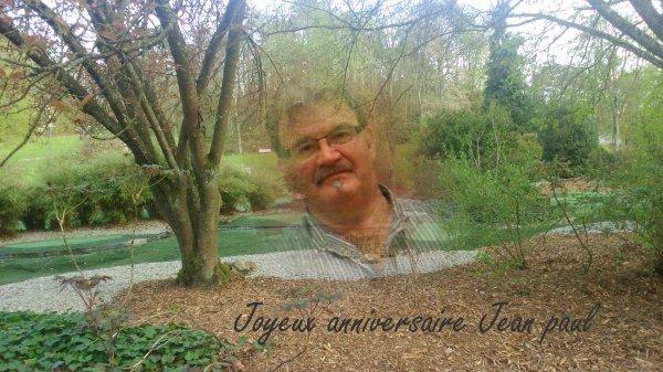 Joyeux anniversaire Jean Paul