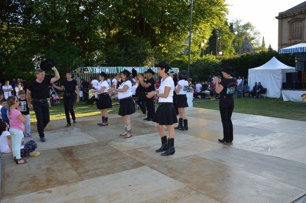 Démo Free Dancers  Feu de la Saint Jean à Hayange