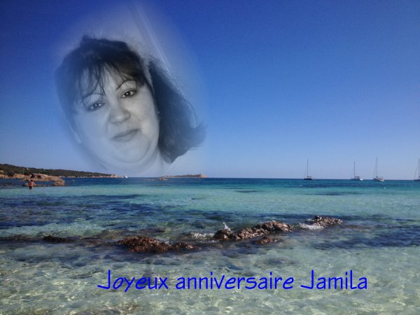 Joyeux anniversaire Jamila et Béa