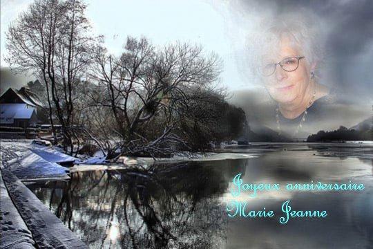 Joyeux anniversaire  Marie Jeanne