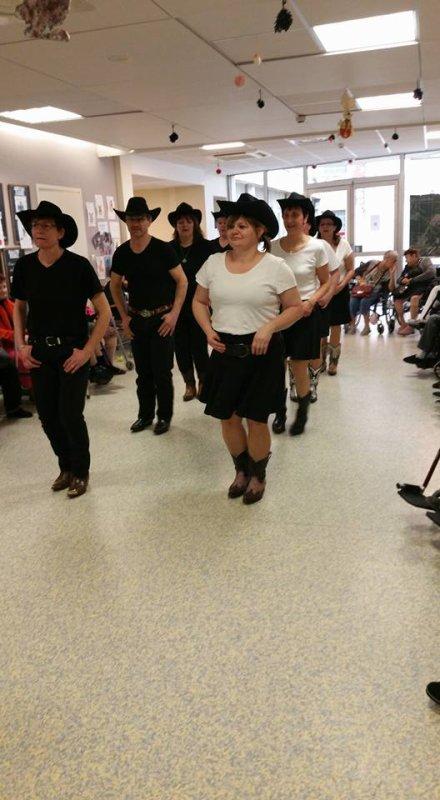 Démo free Dancers a Ehpad Le Witten à Algrange 2018