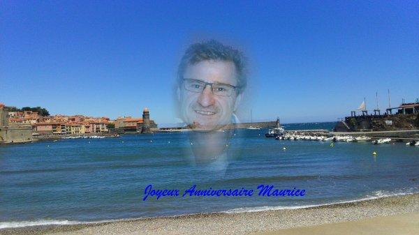 Joyeux anniversaire  Maurice..