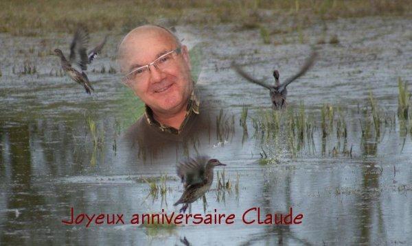 Joyeux anniversaire  Jean Paul et Claude !