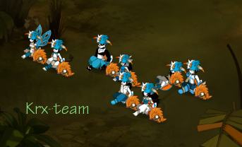 Présentation de ma team.