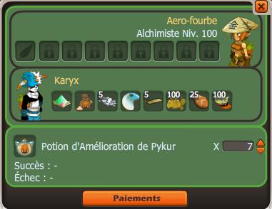 Pykurs, commandes et turquoise(s)