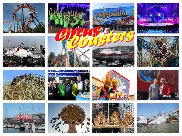 Circus & Coasters, deux passions réunies !!!