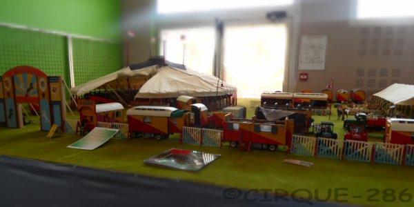 Expo maquette de cirque