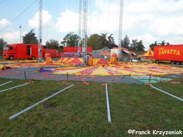 EXCLU: Le nouveau chapiteau du cirque Lydia Zavatta !