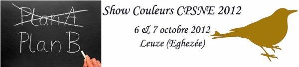 le SHOW CPSNE de canaris de couleurs 2012