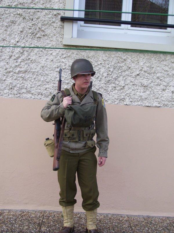 tenue de cavalry man
