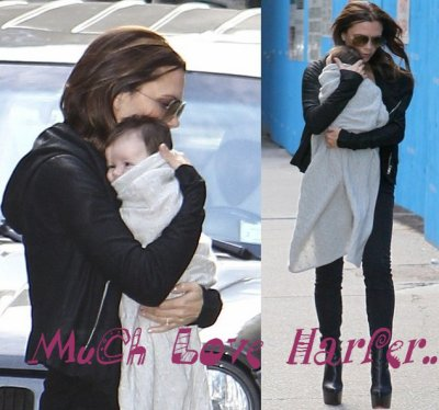 ᘛ Harper is here, at NYC ! Merci à PregnantStars.ᘚ