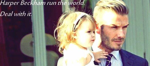 Bienvenue sur le blog de la petite merveille de David & Victoria Beckham. ღ