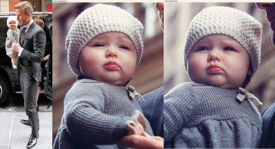The cutest baby ever, out in N-Y, 12 février. ♡