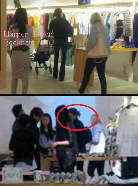 Harper fait du shopping en Chine :)).