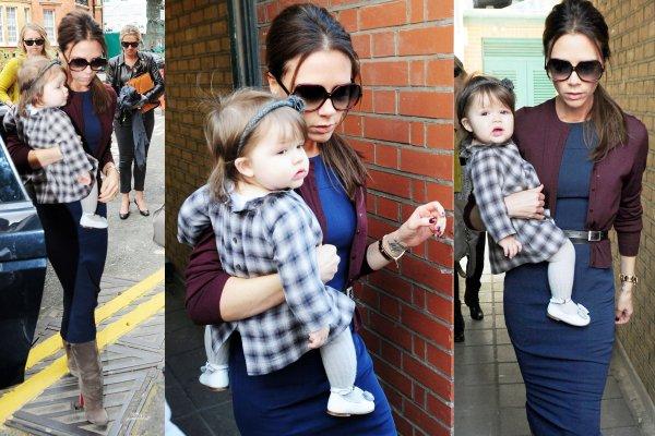 Baby Harper et Mummy sont à Londres ! 13.05.2012