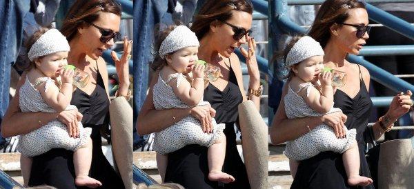 Nouvelle sortie :). Plage de Santa Monica, 28.05.2012 with Mum & Roméo.