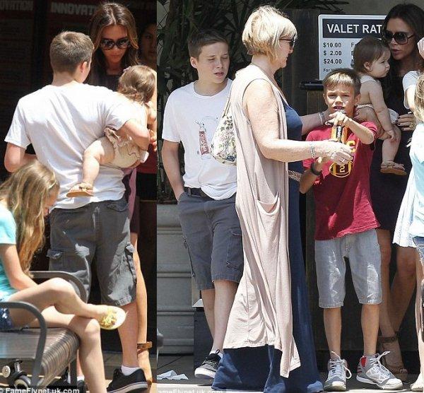 Harper de sortie au Groove (L.A.) avec toute sa famille ; 02.06.2012