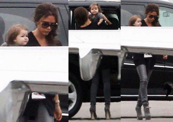 Baby Harper et Mummy prennent un jet-privé ✈ → CANADA ! 15.06.2012