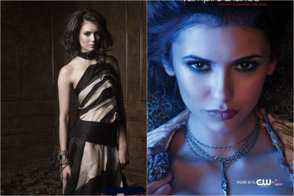 23 janvier 2011 : Nina a été vu en compagnie de Ian à LAX. + 2 photos promotionnelles de The Vampire Diaries. Nina est sublime dessus !